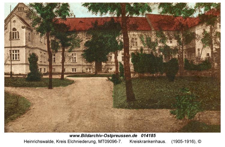 Heinrichswalde, Kreiskrankenhaus