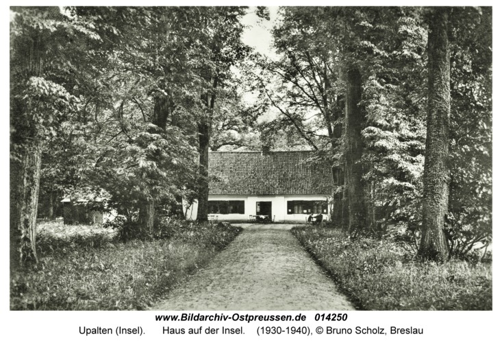 Upalten (Insel), Haus auf der Insel