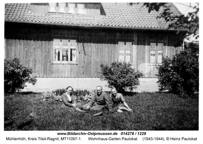 Mühlenhöh, Wohnhaus-Garten Paulokat