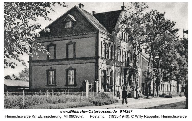 Heinrichswalde Kr. Elchniederung, Postamt