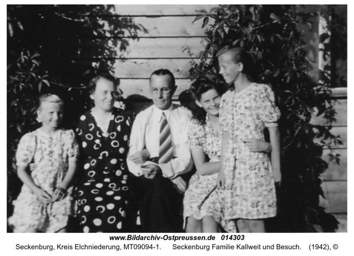 Seckenburg Familie Kallweit und Besuch