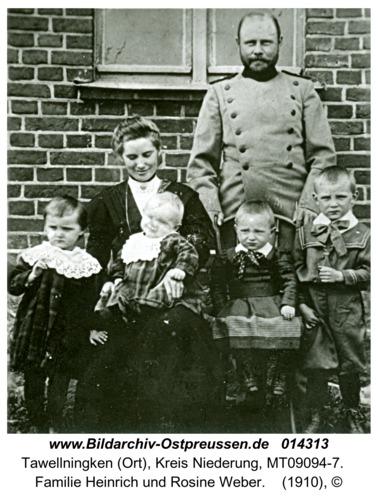 Tawellningken (Ort), Familie Heinrich und Rosine Weber