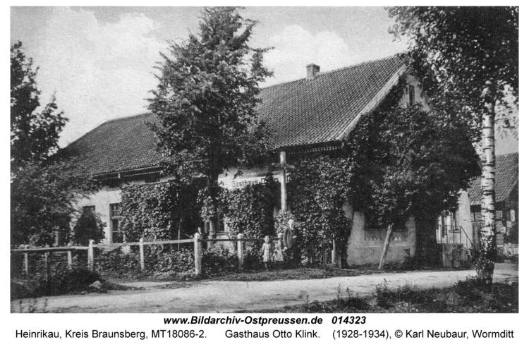 Heinrikau, Gasthaus Otto Klink