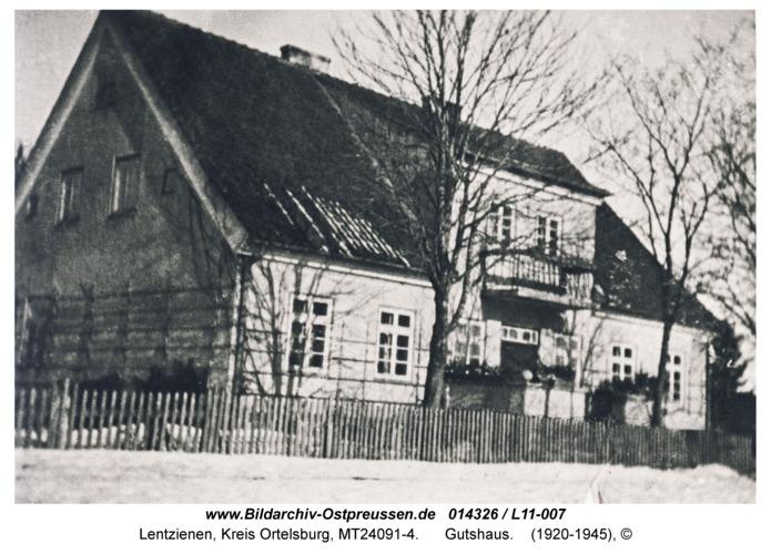 Lentzienen, Gutshaus