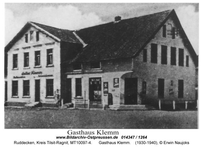 Ruddecken, Gasthaus Klemm