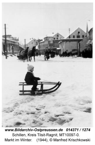 Schillen, Markt im Winter