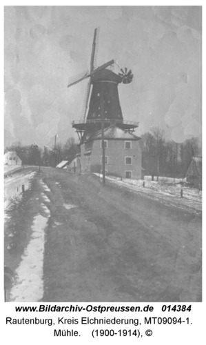 Rautenburg, Mühle