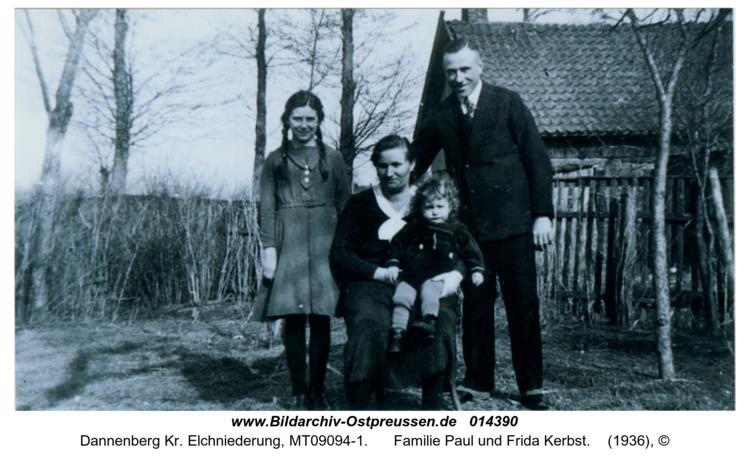 Dannenberg, Familie Paul und Frida Kerbst