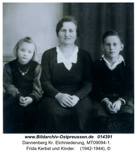 Dannenberg, Frida Kerbst und Kinder