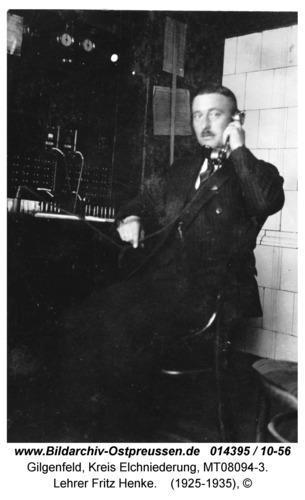 Gilgenfeld, Lehrer Fritz Henke