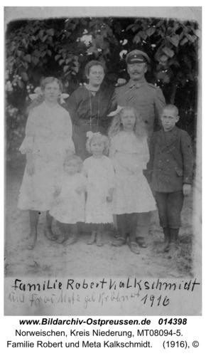 Norweischen, Familie Robert und Meta Kalkschmidt