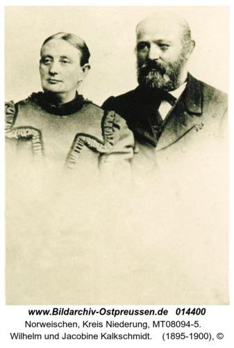 Norweischen, Wilhelm und Jacobine Kalkschmidt