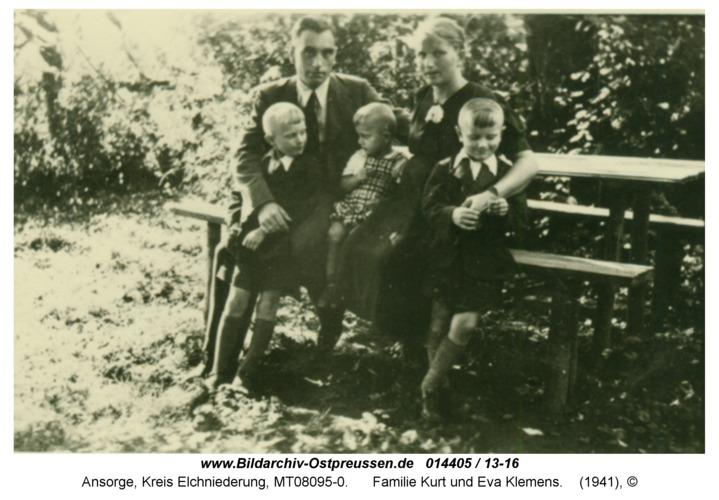 Ansorge, Familie Kurt und Eva Klemens