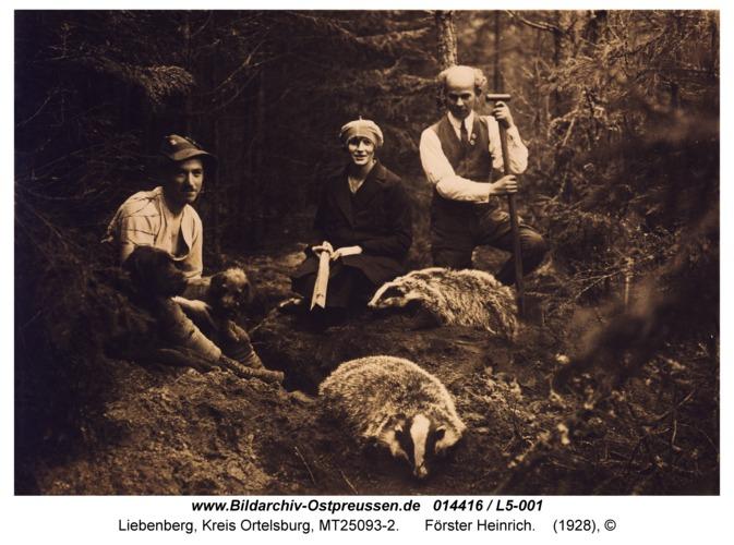 Liebenberg, Förster Heinrich