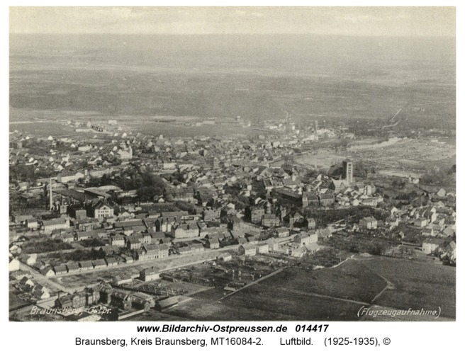 Braunsberg, Luftbild