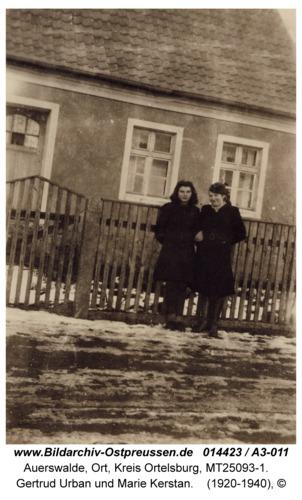 Auerswalde, Gertrud Urban und Marie Kerstan