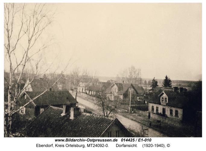 Ebendorf, Dorfansicht