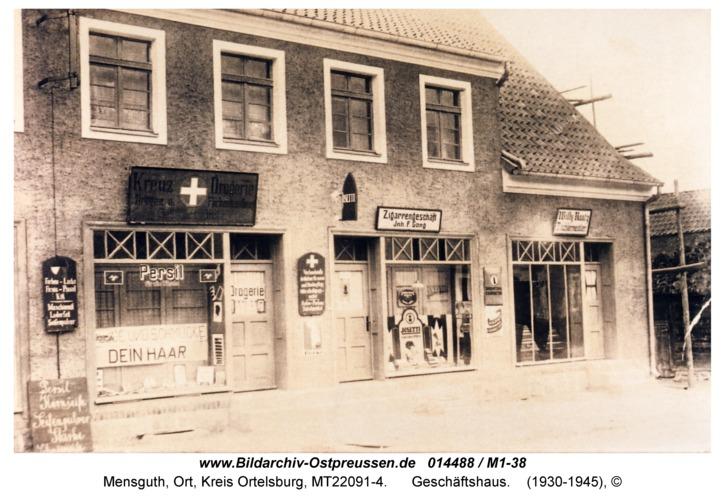 Mensguth, Geschäftshaus