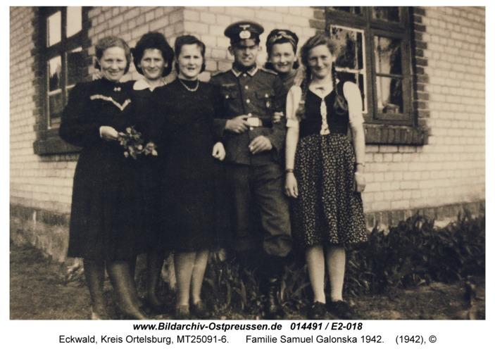 Eckwald, Familie Samuel Galonska 1942
