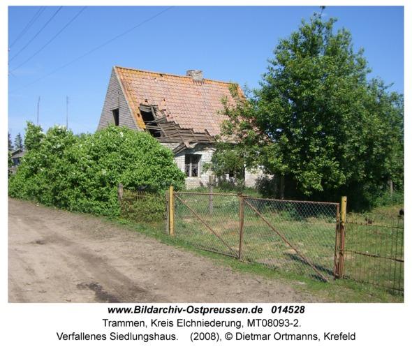 Trammen, Verfallenes Siedlungshaus