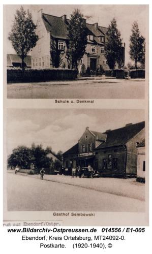 Ebendorf, Postkarte
