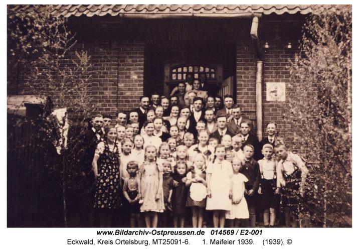 Eckwald, 1. Maifeier 1939