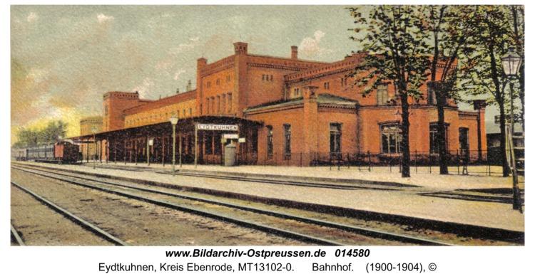 Eydtkau, Bahnhof
