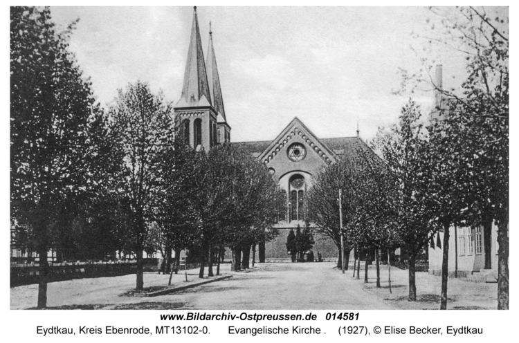Eydtkau, Evangelische Kirche