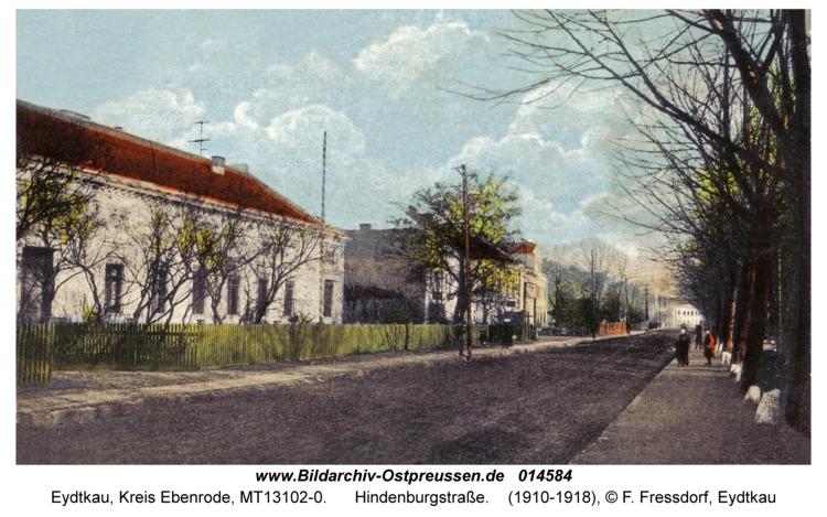 Eydtkau, Hindenburgstraße