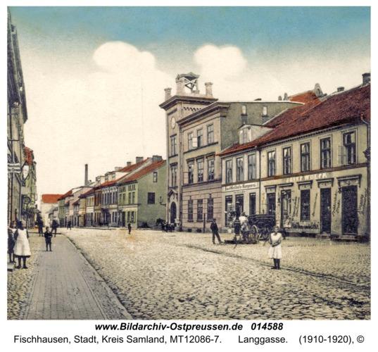 Fischhausen, Langgasse