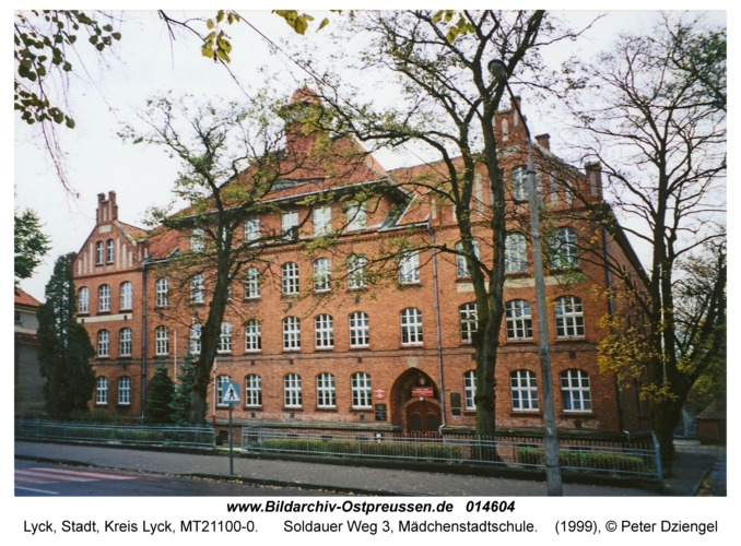 Lyck, Soldauer Weg 3, Mädchenstadtschule