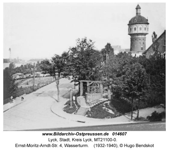 Lyck, Ernst-Moritz-Arndt-Str. 4, Wasserturm