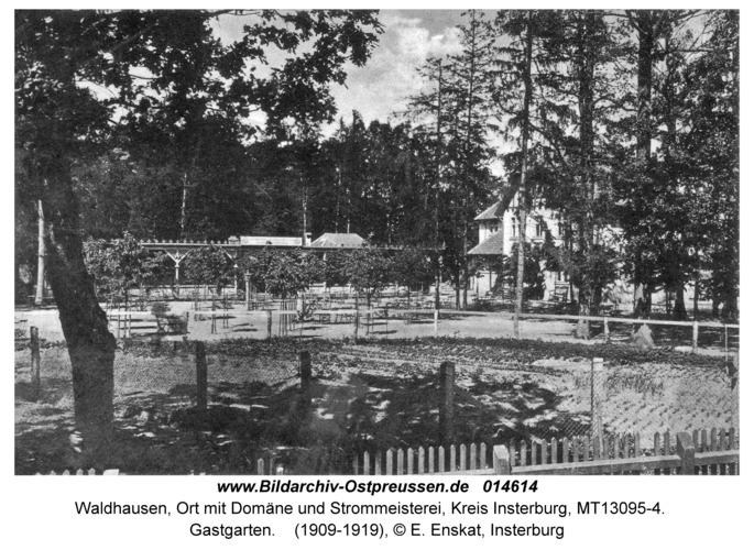 Waldhausen Kr. Insterburg, Gastgarten