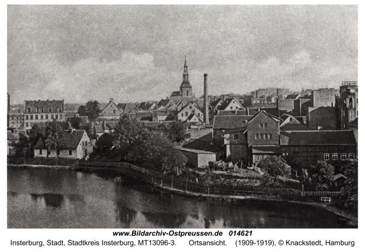 Insterburg, Ortsansicht