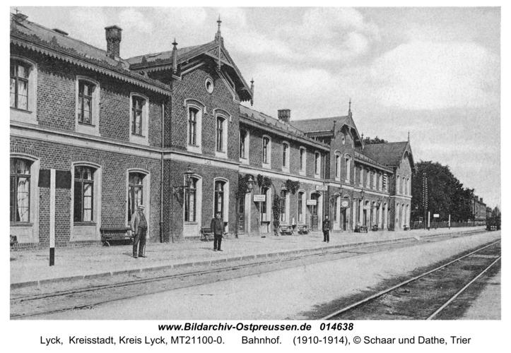 Lyck, Bahnhof