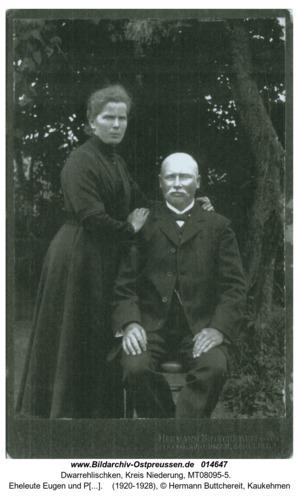 Dwarrehlischken, Eheleute Eugen und Paula Doehring