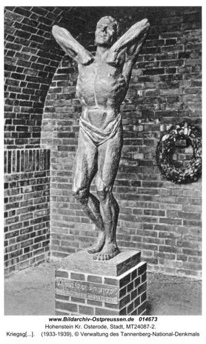 Hohenstein Kr. Osterode, Kriegsgefangenenehrenmal