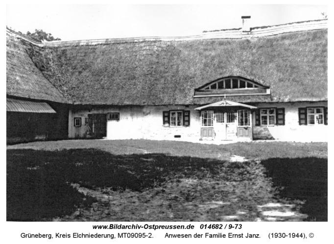 Grüneberg, Anwesen der Familie Ernst Janz