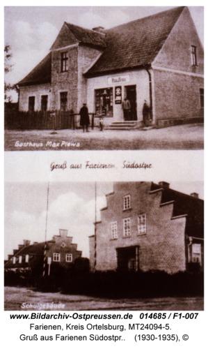 Farienen, Gruß aus Farienen Südostpr.