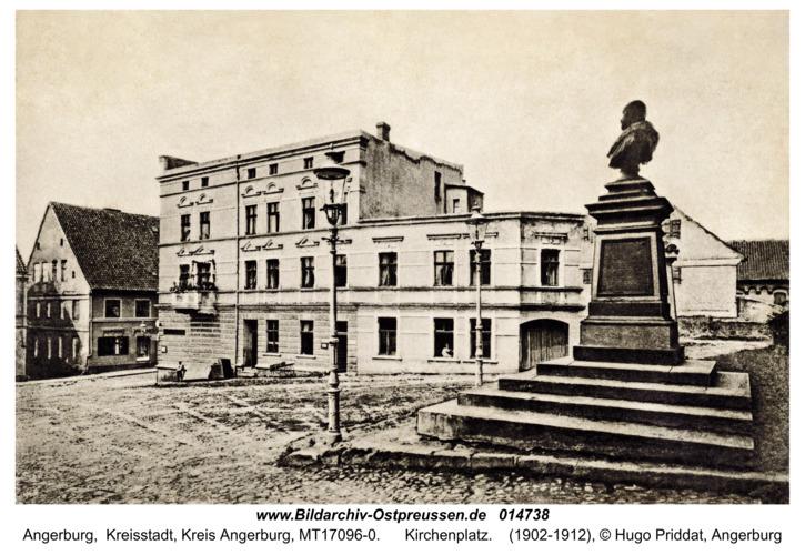 Angerburg Kr. Angerburg, Kirchenplatz