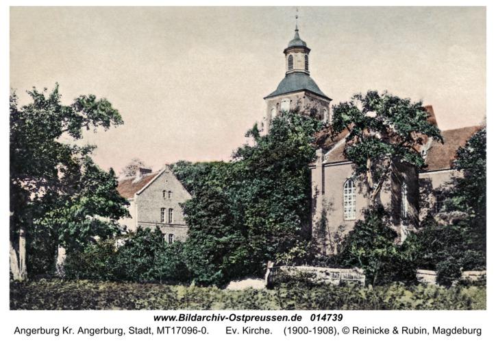 Angerburg, Ev. Kirche