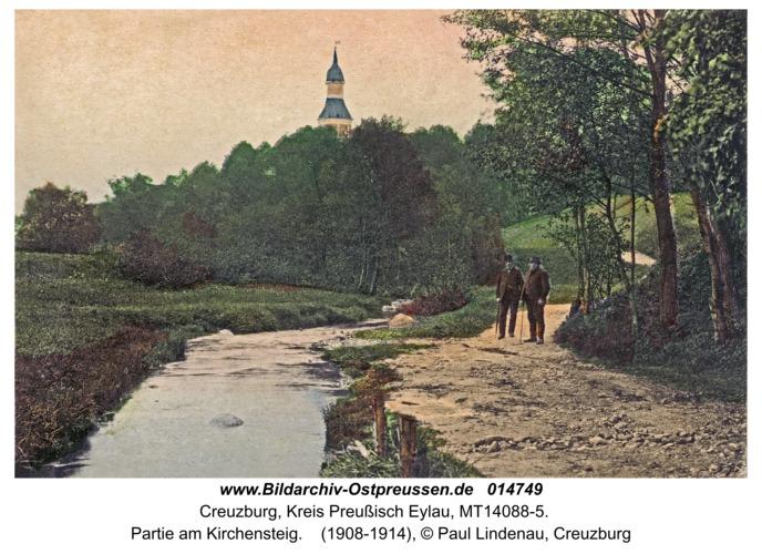Kreuzburg, Partie am Kirchensteig