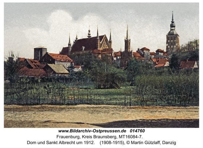 Frauenburg, Dom und Sankt Albrecht um 1912