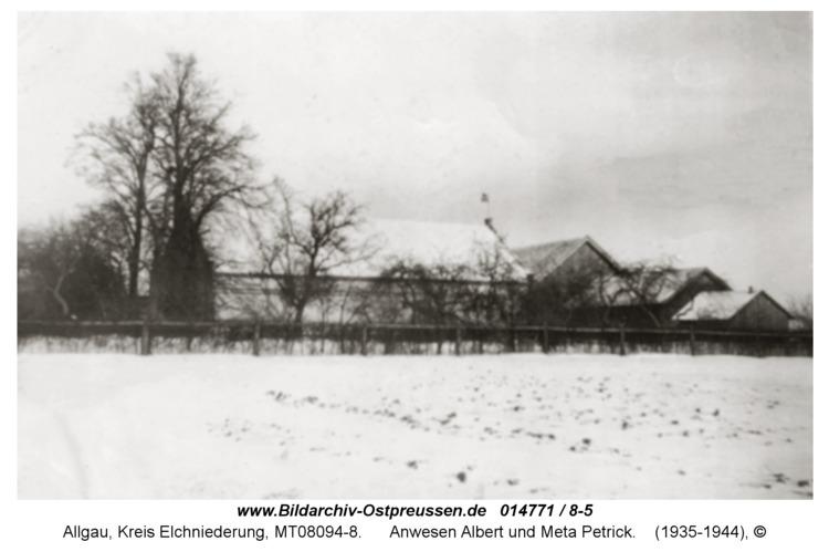 Allgau, Anwesen Albert und Meta Petrick