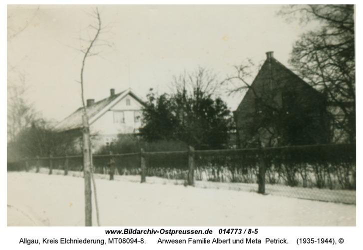 Allgau, Anwesen Familie Albert und Meta Petrick