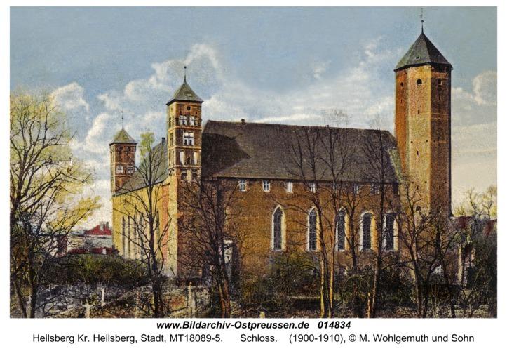 Heilsberg Kr. Heilsberg, Schloss