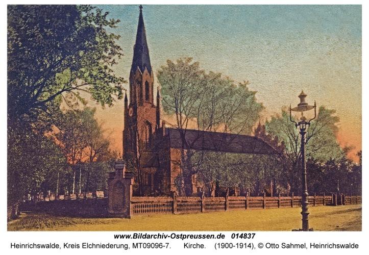 Heinrichswalde Kr. Elchniederung, Kirche