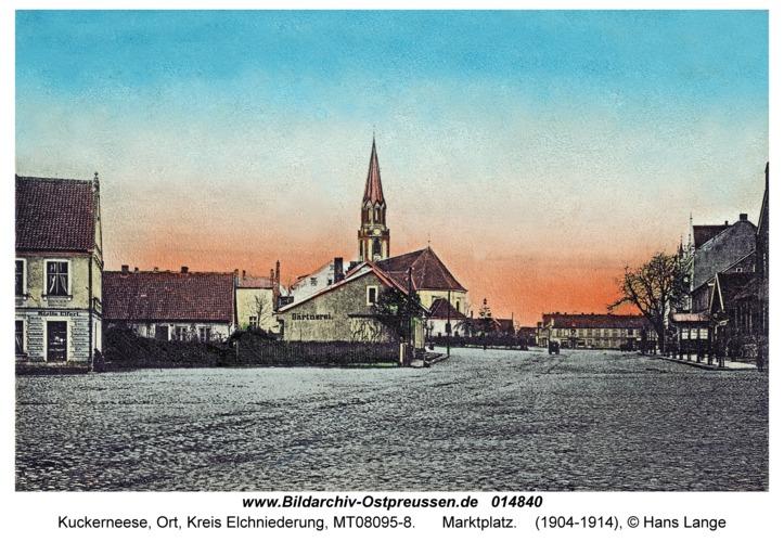 Kuckerneese (fr. Kaukehmen), Marktplatz