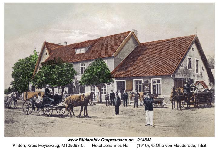 Kinten, Hotel Johannes Hall