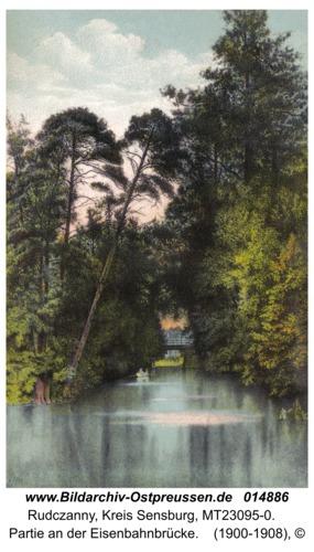 Niedersee, Partie an der Eisenbahnbrücke